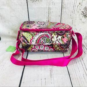 Vera Bradley Very Berry Cooler/Lunch Box NWT